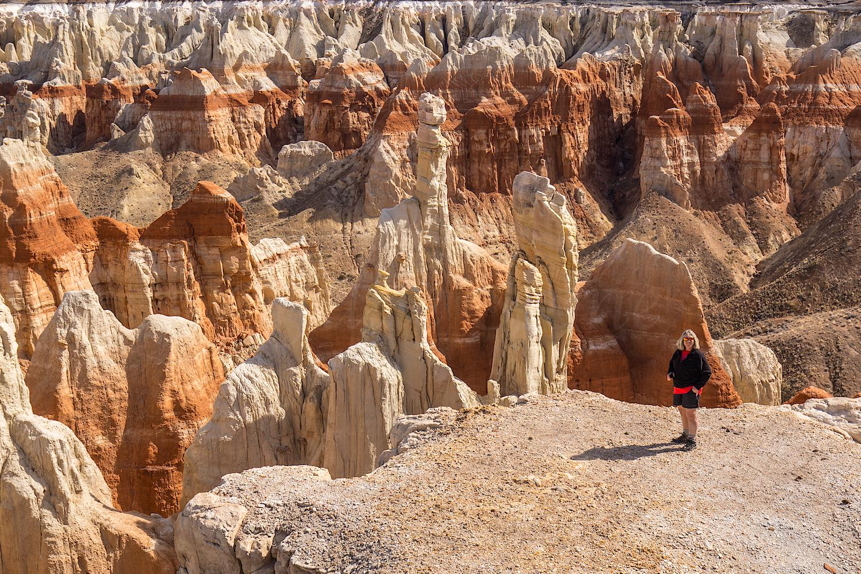 Zarita in Coal Mine Canyon, Image #JS_4991