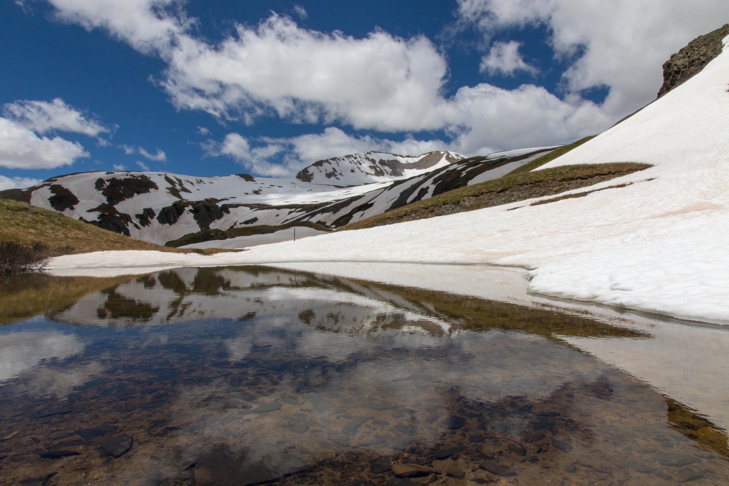 Snowy Reflection, Image #JS_0727