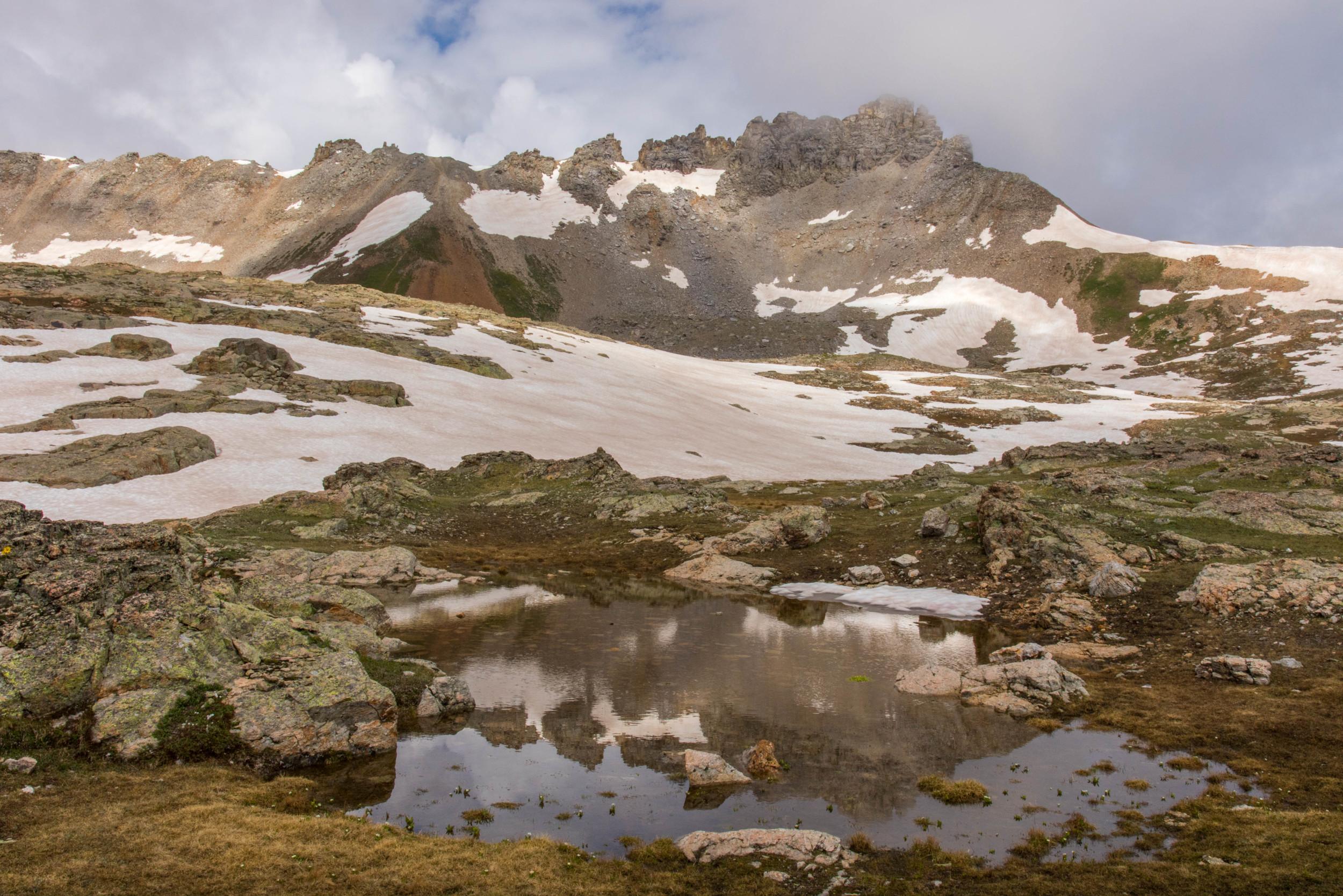 Porphyry Reflection Pond, Image #JS_5612