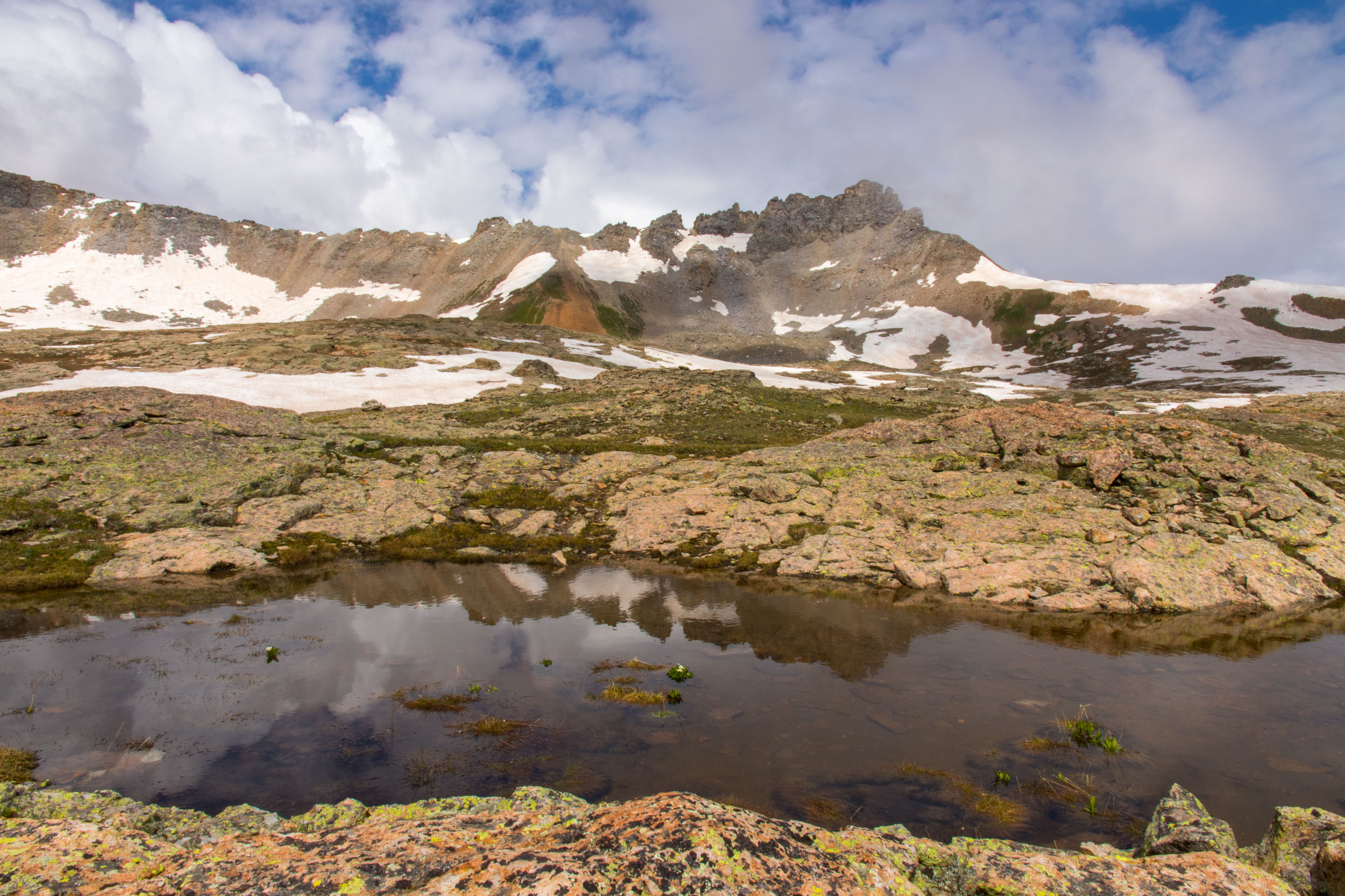 Bullion King Clouds and Reflection, Image #JS_5619