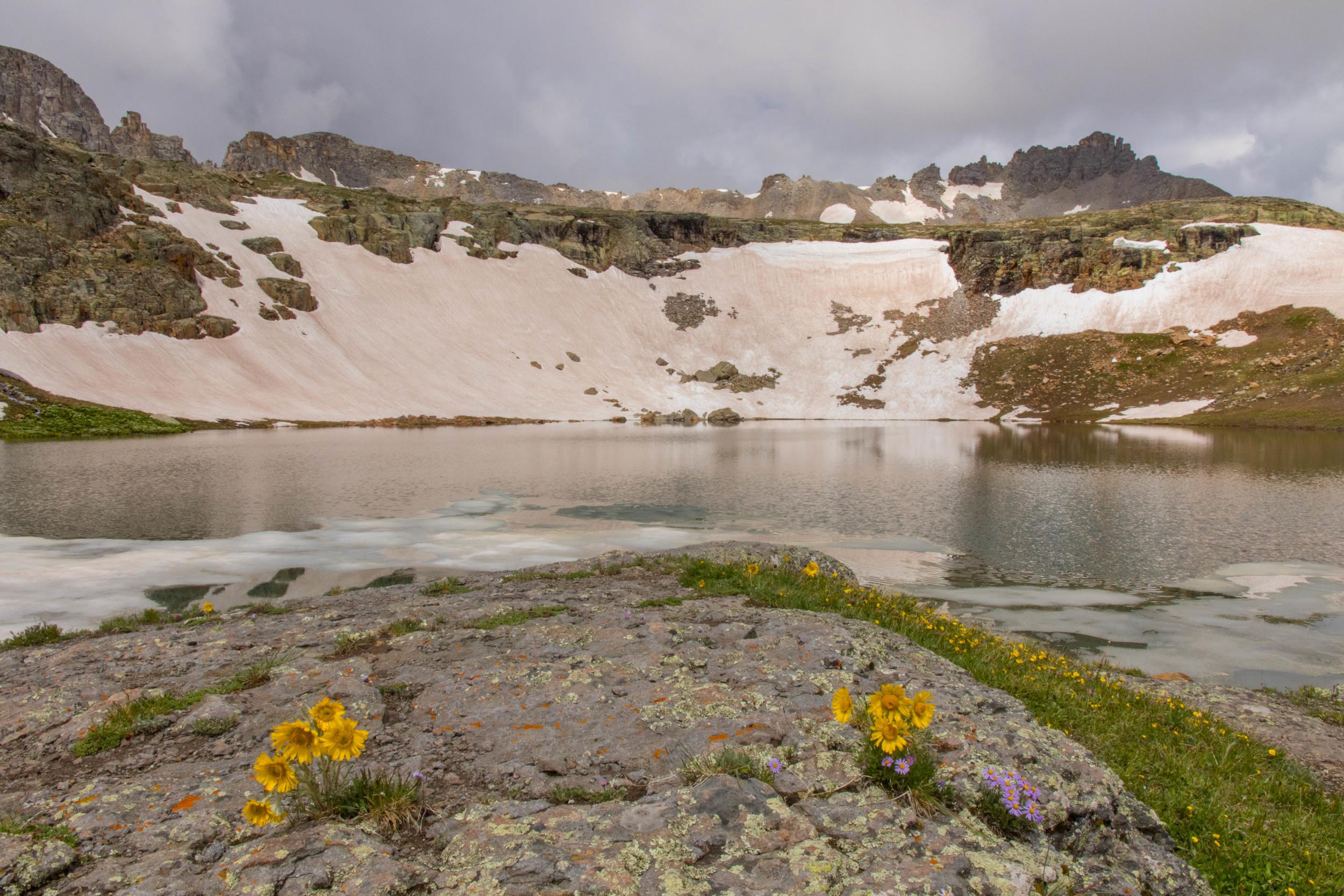 Old Man of the Mountain Bullion King Lake, Image #JS_5795