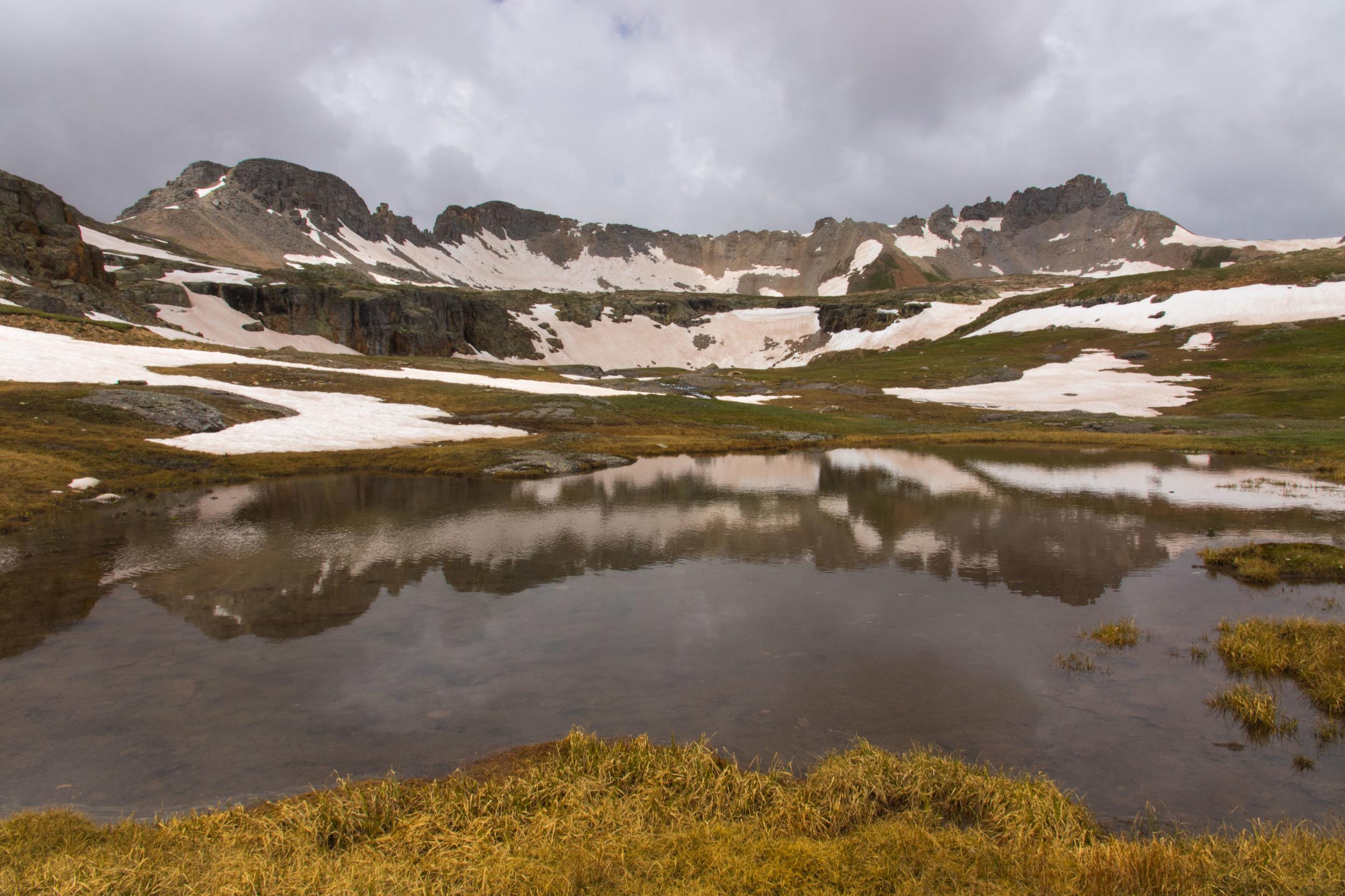 Reflection in Bullion King Lake, Image #JS2_5928