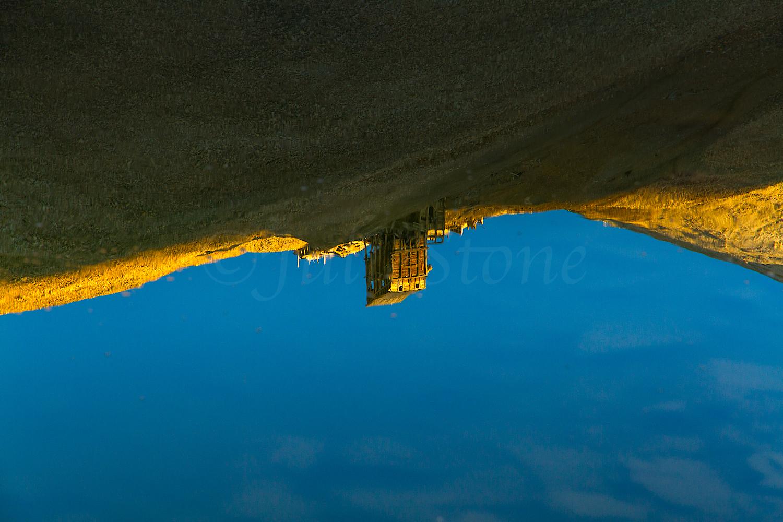 Hilltop Mine Reflection, Image #1333