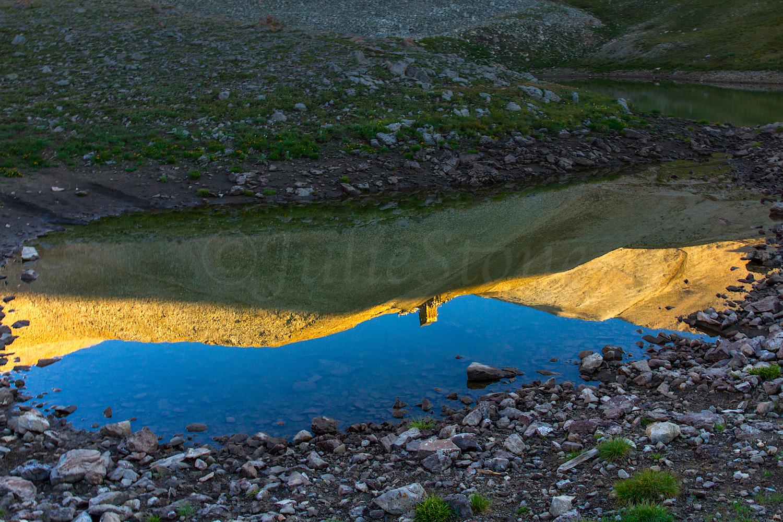 Hilltop Mine Reflection, Image #1364