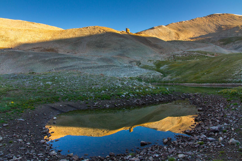 Hilltop Mine Reflection, Image #1369