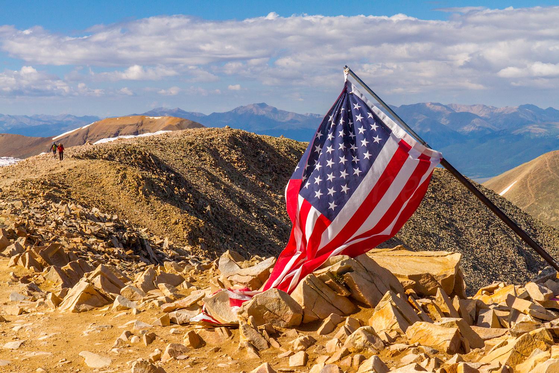 Summit of Mount Sherman 14,036', Image #1788