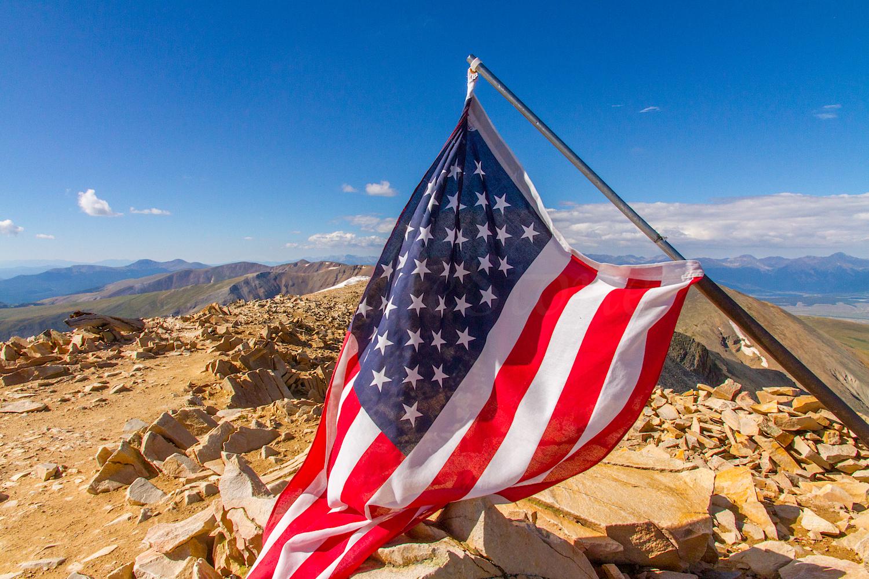 Summit of Mountain Sherman 14,036', Image # 1802