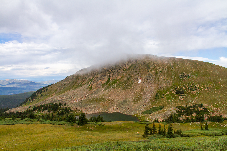 Mt Epworth and Deadman Lake, Image # 9583