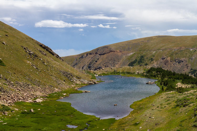 Looking back at Betty Lake from Bob Lake, Image # 0349