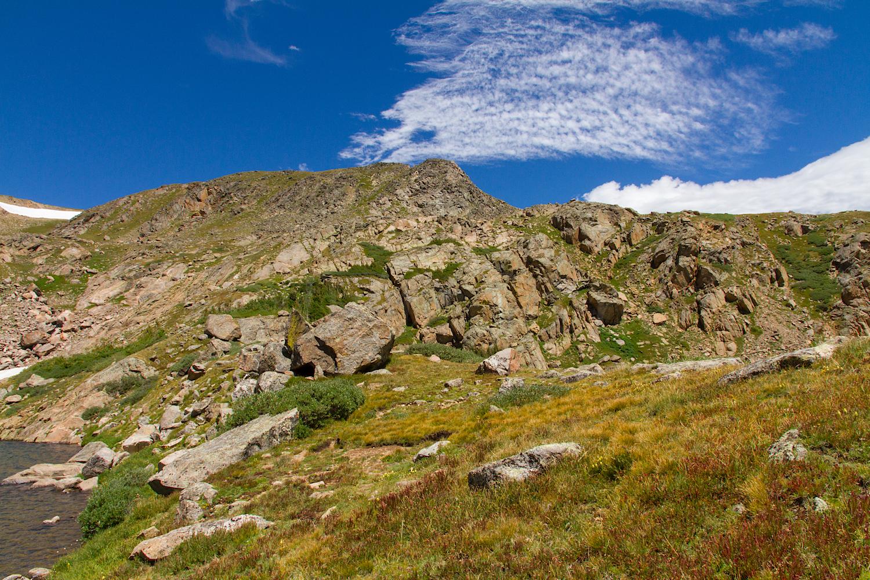 Saddle above Betty Lake, Image # 0383