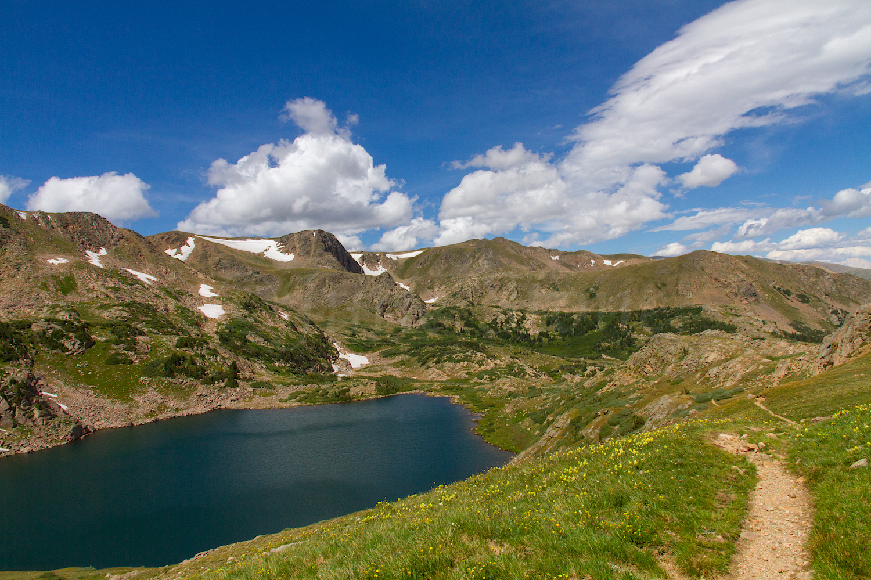 Trail alongside King Lake, Image # 0734
