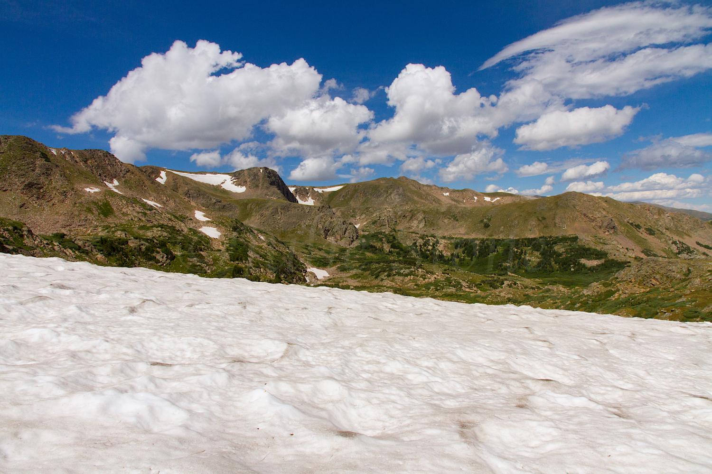 Snowfield at King Lake, Image # 0807