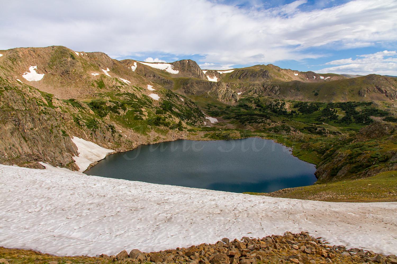 King Lake Snowfield, Image # 9641
