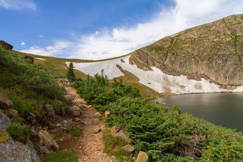 Trail along King Lake, Image # 9753