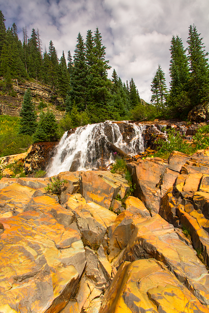CASCADE DIVIDE WATERFALL, IMAGE # 5153