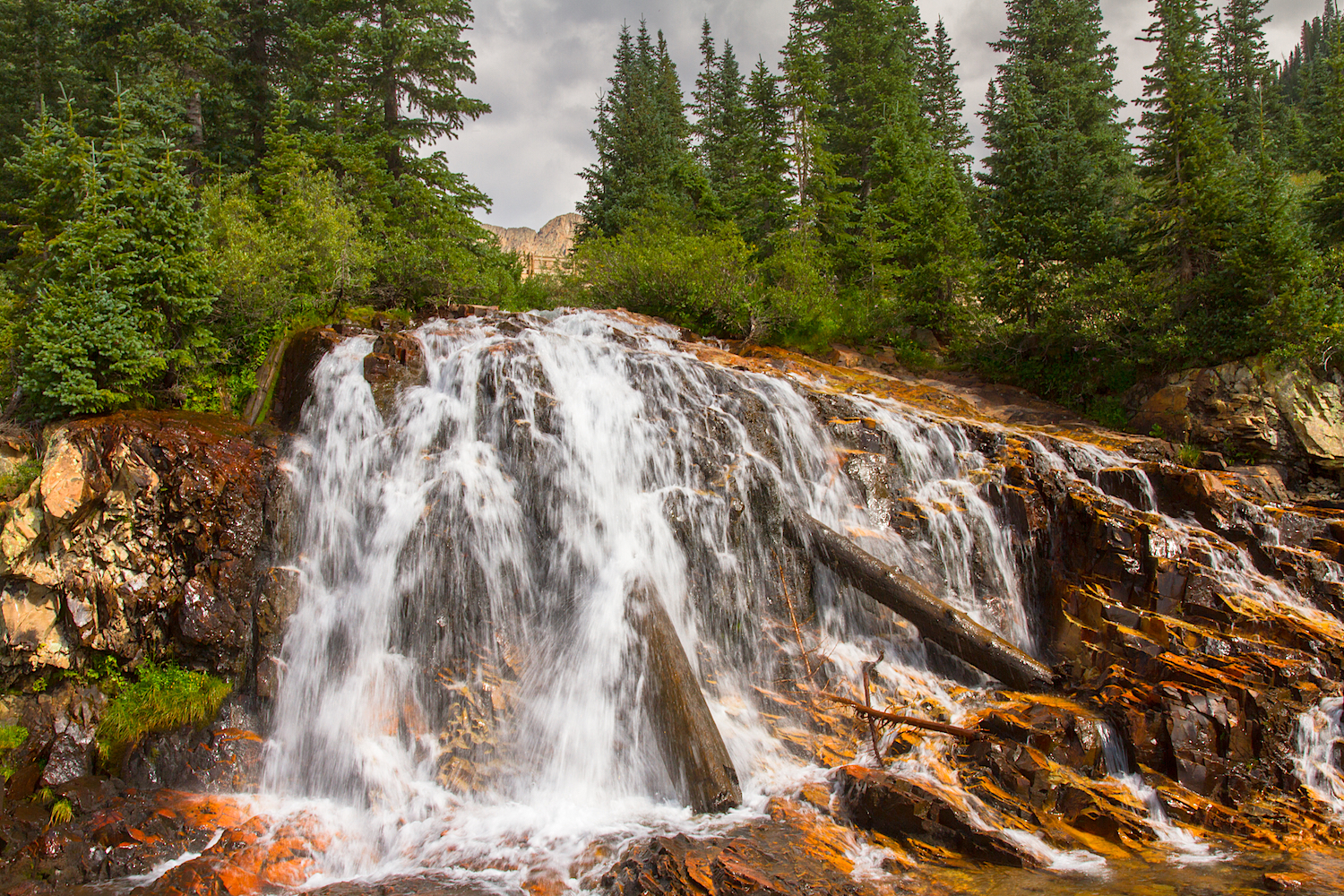 CASCADE DIVIDE WATERFALL, IMAGE # 5088