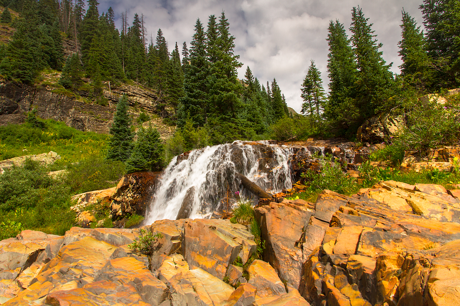 CASCADE DIVIDE WATERFALL, IMAGE # 5154