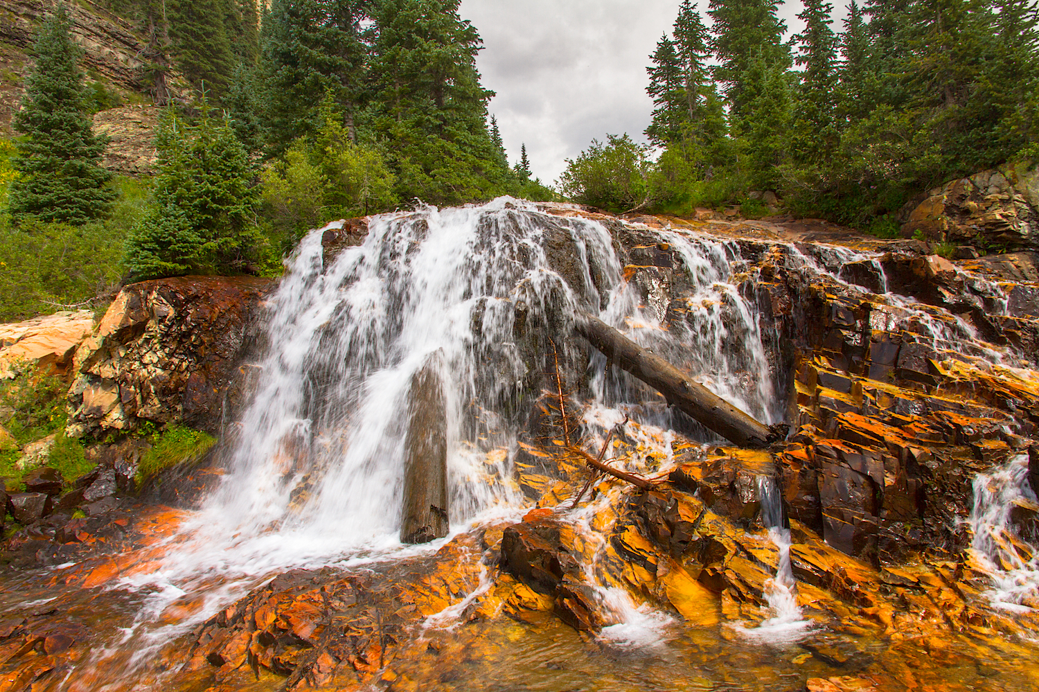 CASCADE DIVIDE WATERFALL, IMAGE # 5174