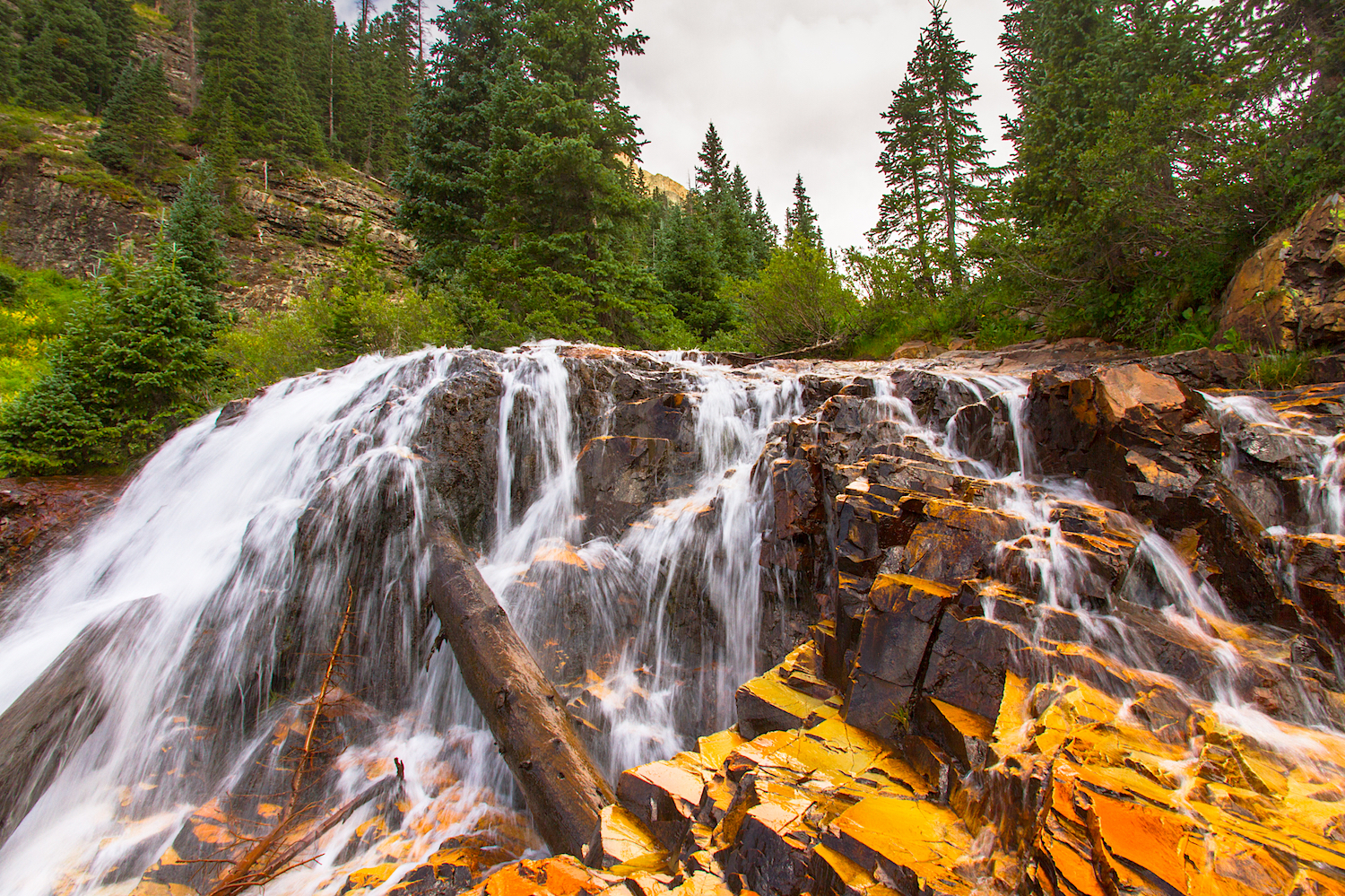 CASCADE DIVIDE WATERFALL, IMAGE # 5293