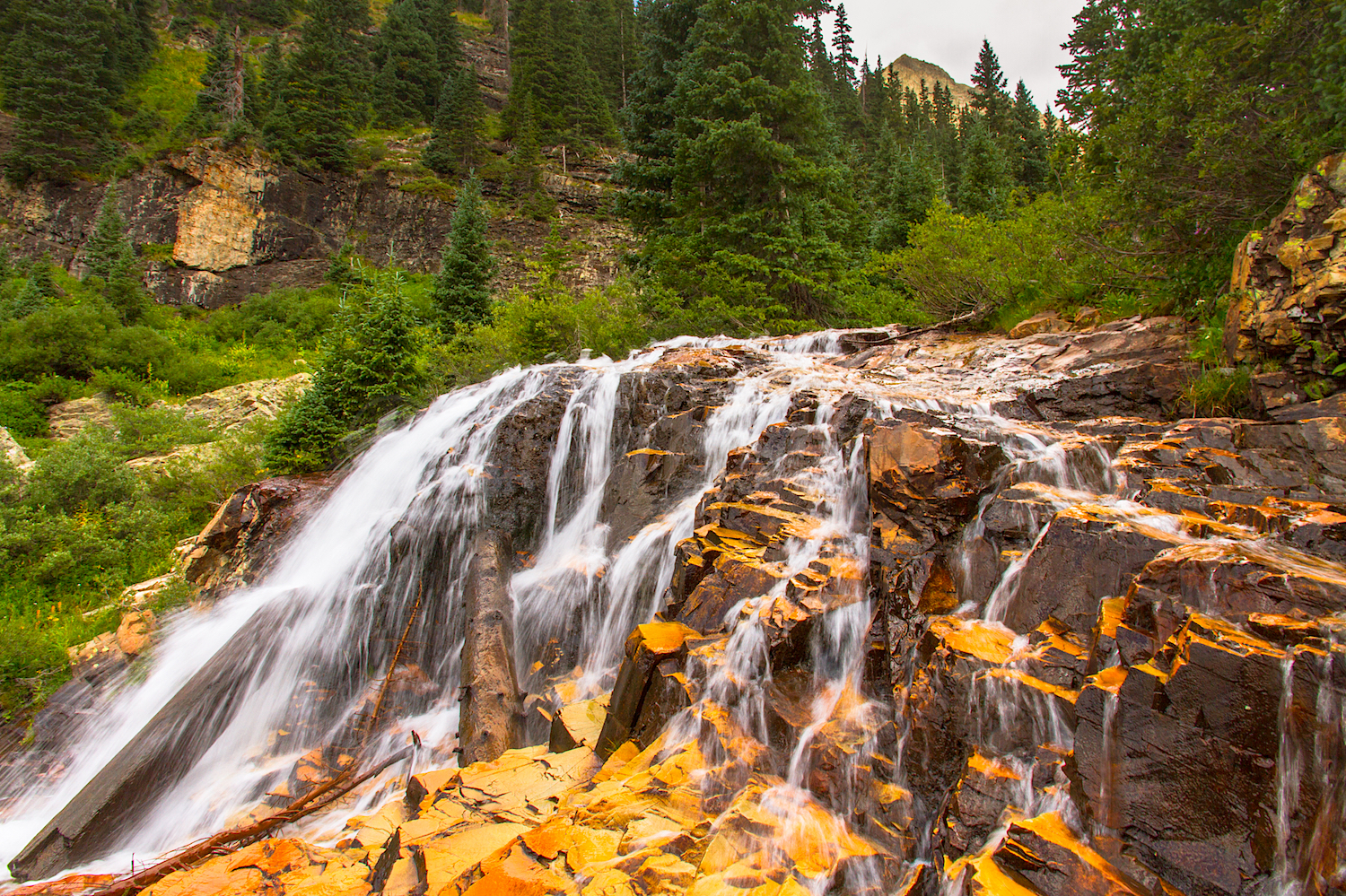 CASCADE DIVIDE WATERFALL, IMAGE # 5422