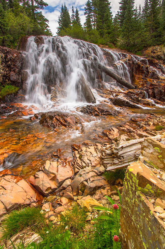 CASCADE DIVIDE WATERFALL, IMAGE # 5803
