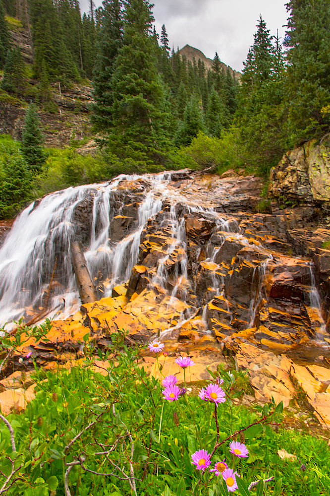 CASCADE DIVIDE WATERFALL, IMAGE # 5823