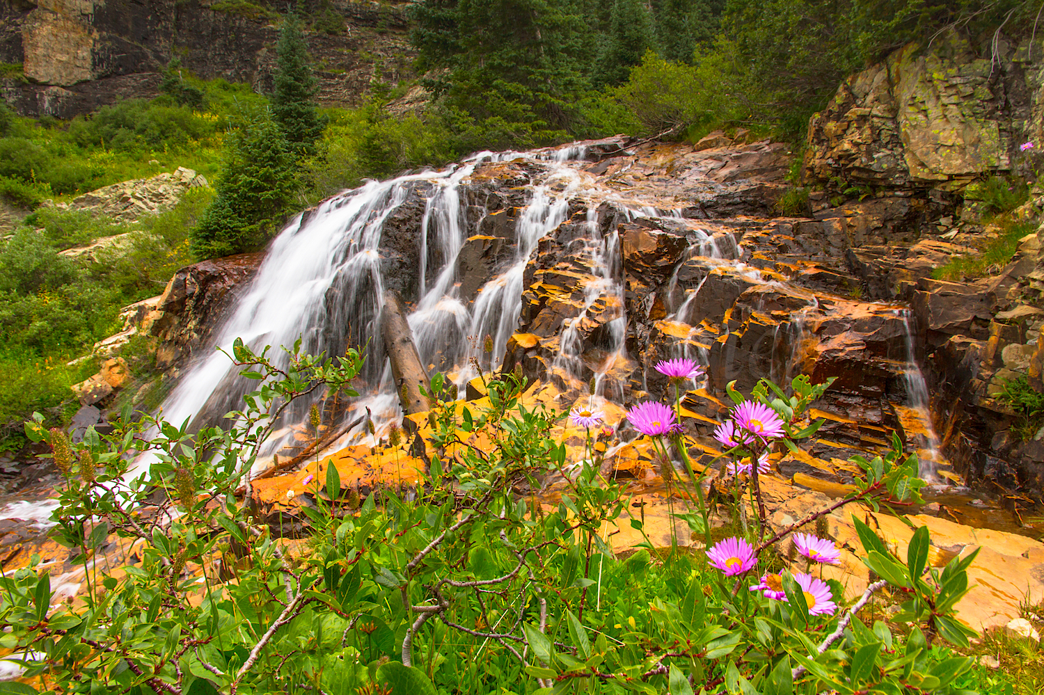 CASCADE DIVIDE WATERFALL, IMAGE # 5835