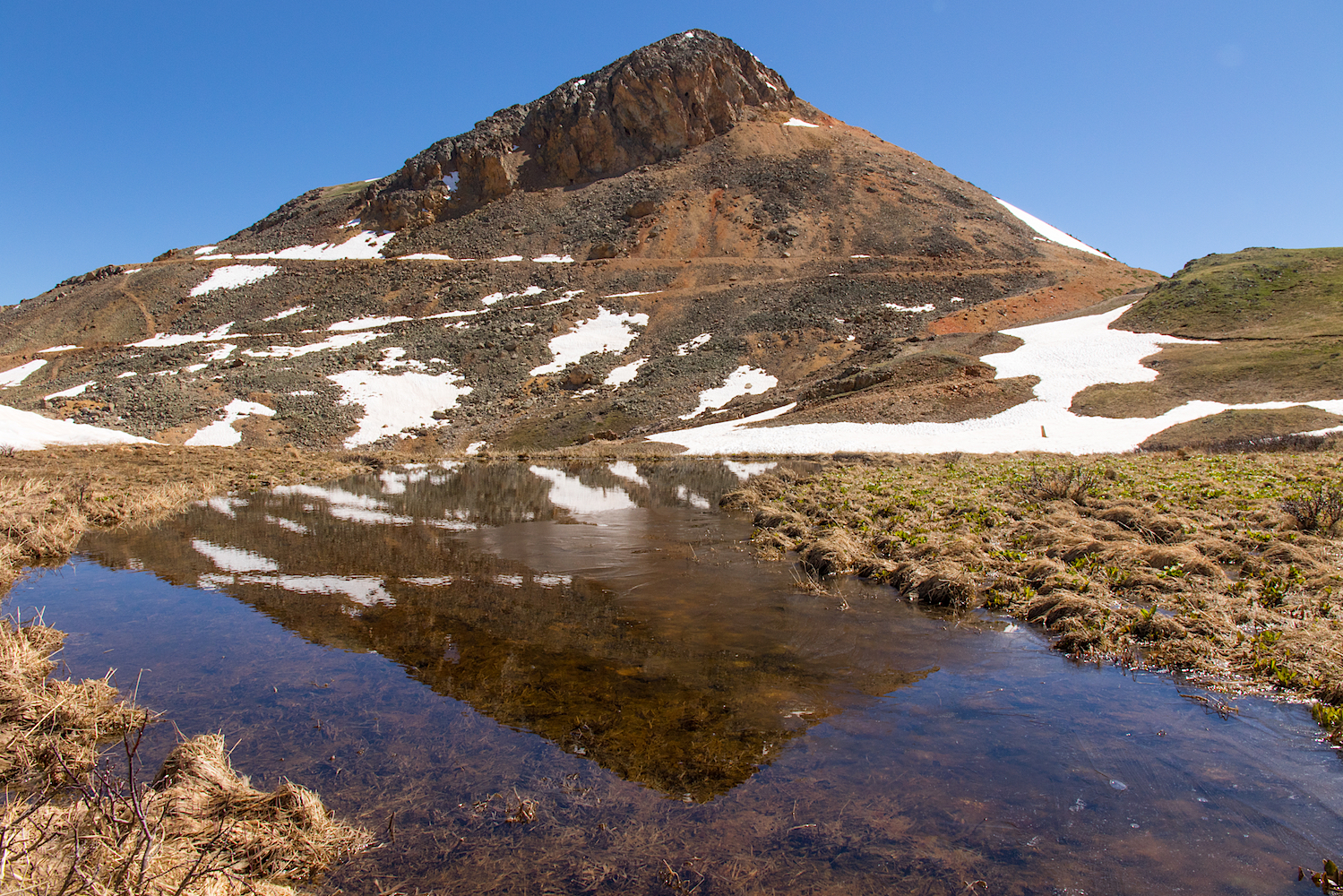 Red Mountain Reflection, Image # 3809