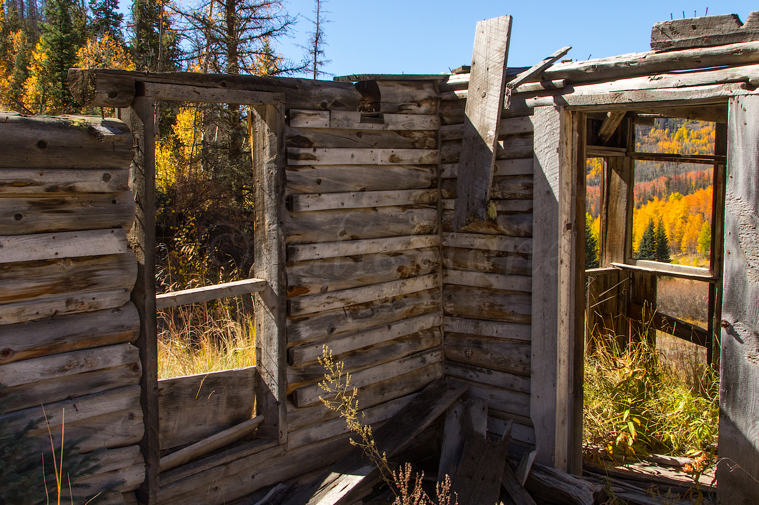 Cabin near Midwest Mine, Image # 3592