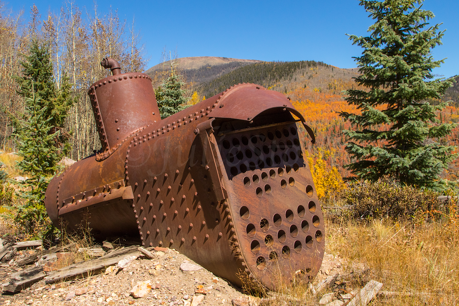 Old Mining Relics, Image # 3914