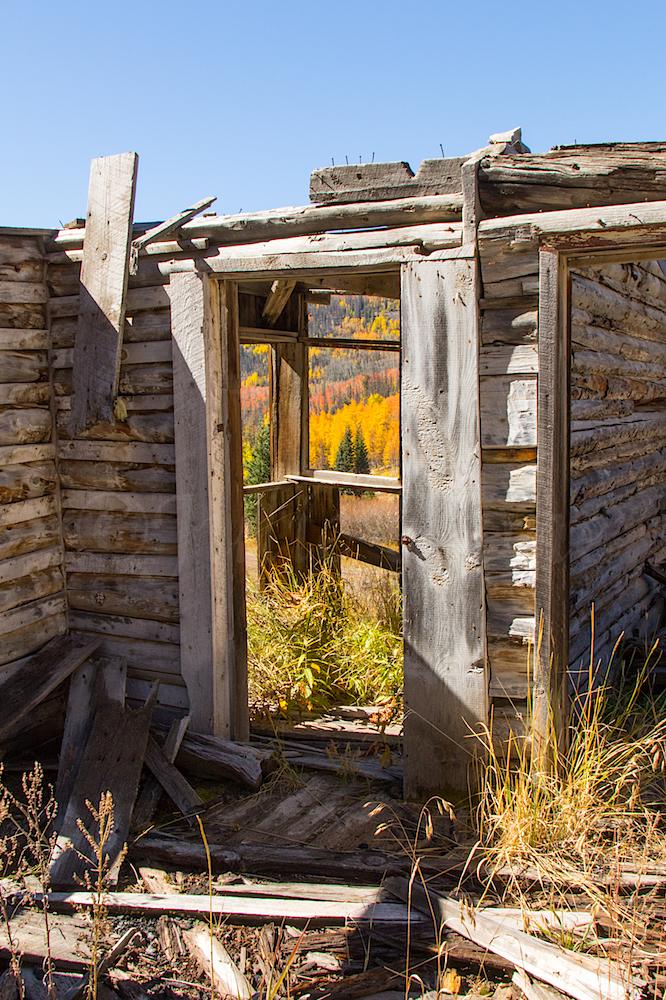 Old Cabin Near Midwest Mine, Image # 3528