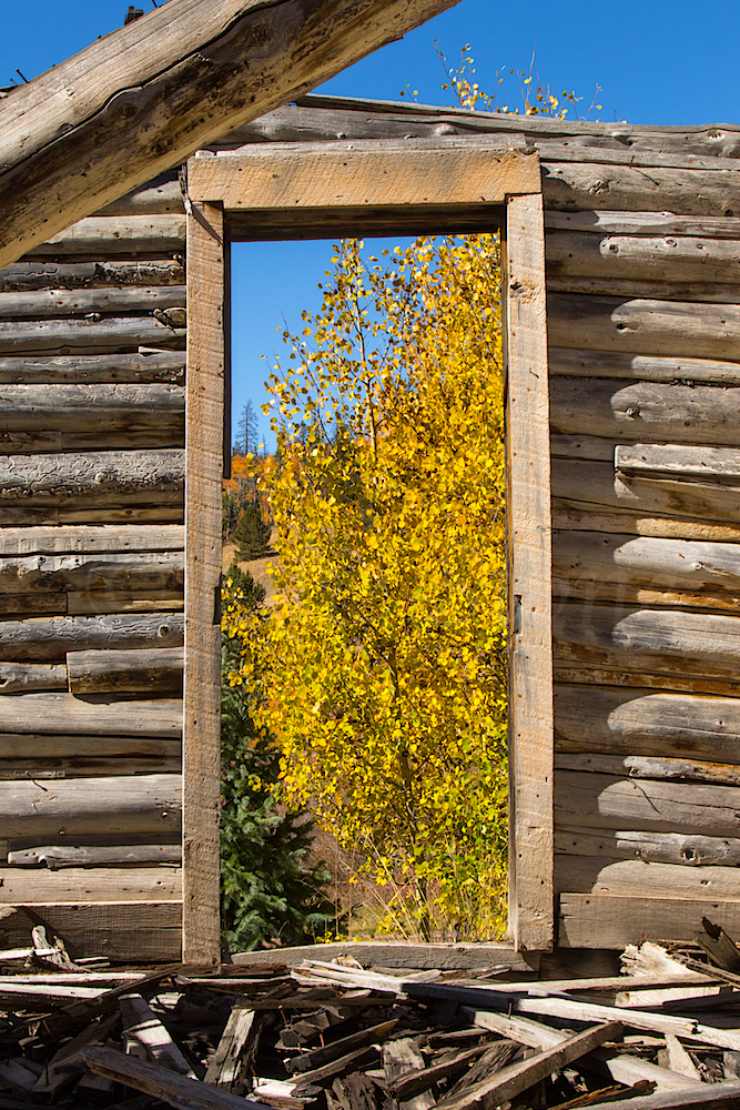 Old Cabin Near Midwest Mine, Image # 3716