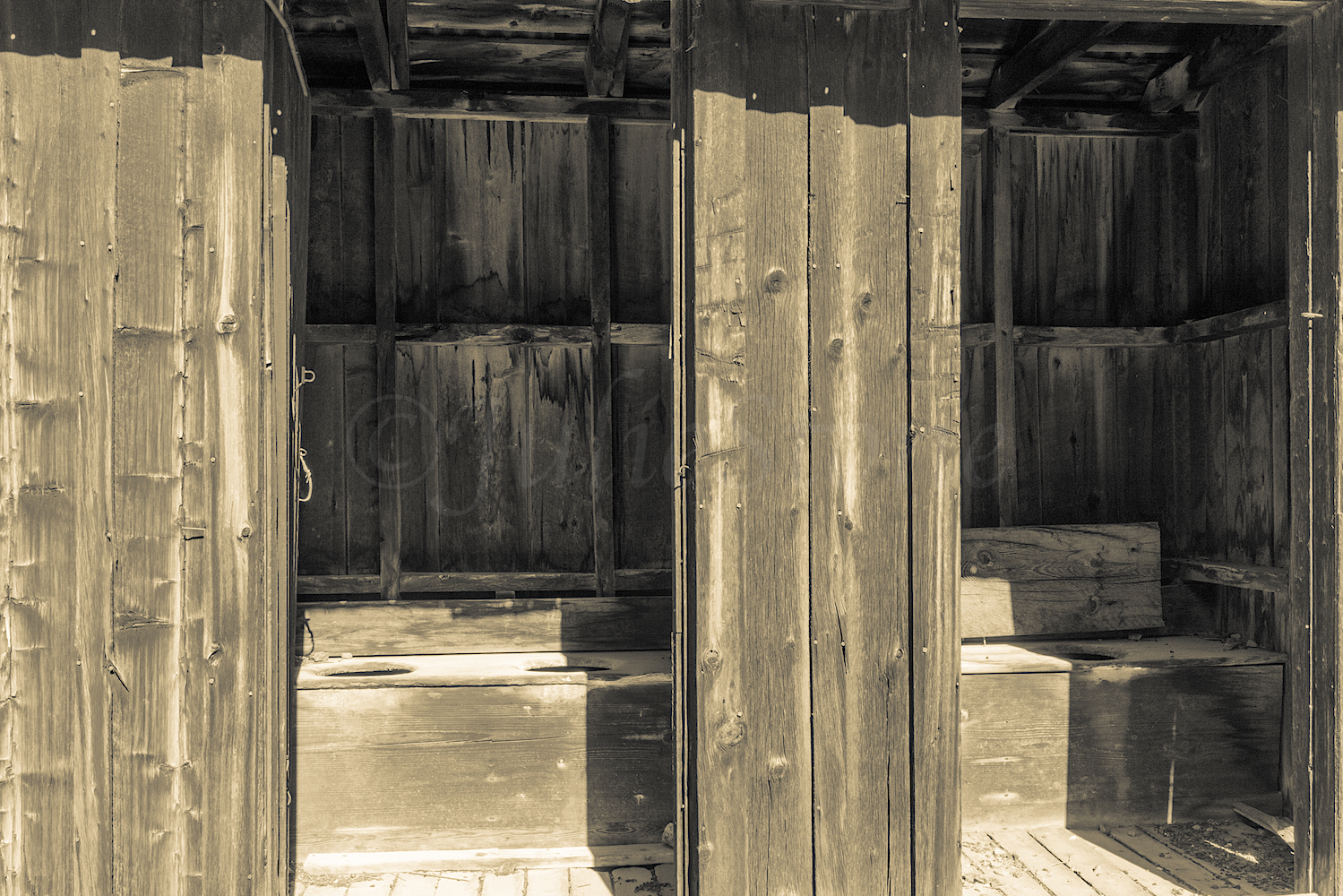 Outhouse at Henson Ghost Town, Image # 5113
