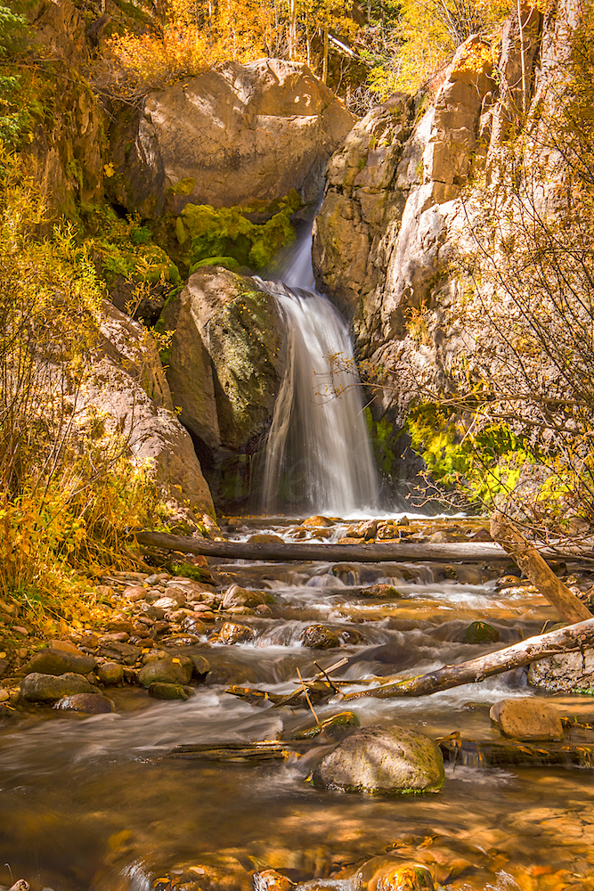 Nellie Creek Falls, Image # 5792