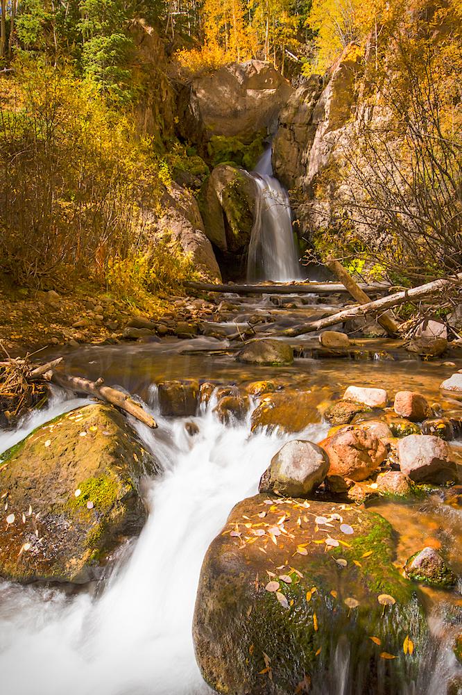 Nellie Creek Falls, Image # 5801