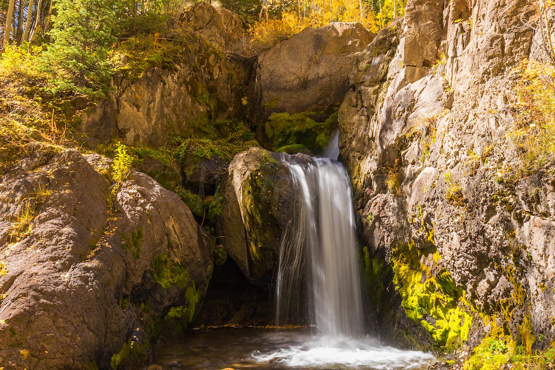 Nellie Creek Falls, Image # 5688