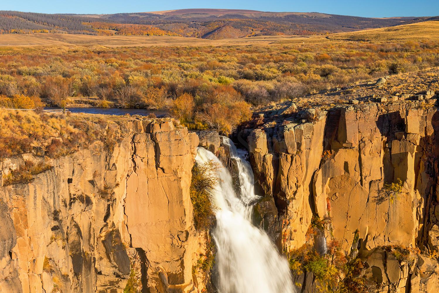 North Clear Creek Falls, Image # 4773