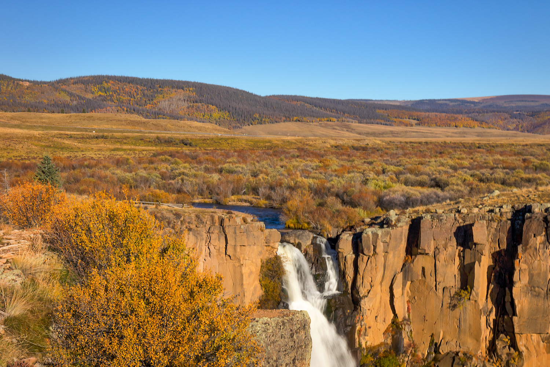 North Clear Creek Falls, Image # 5015