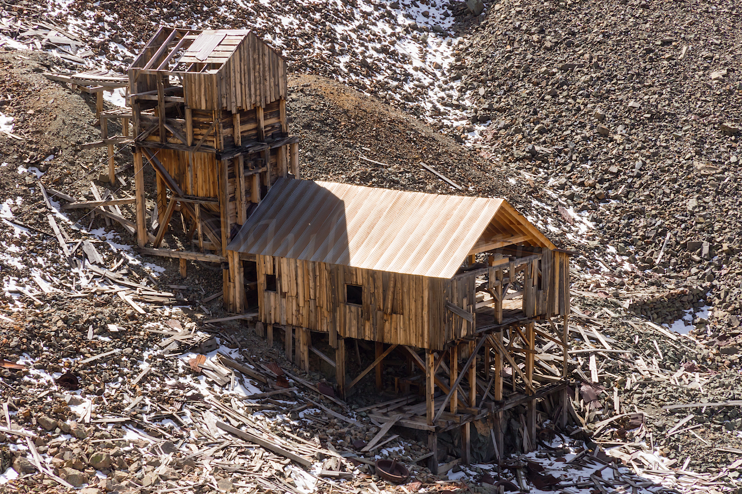Contention Mine Tramhouse, Image # 8181