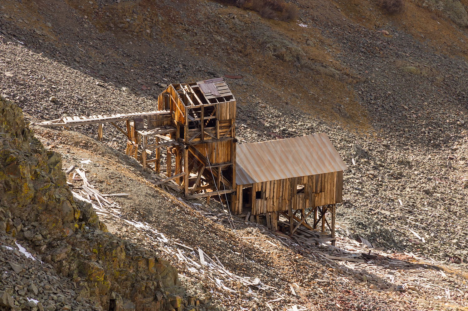Contention Mine Tramhouse, Image # 8717