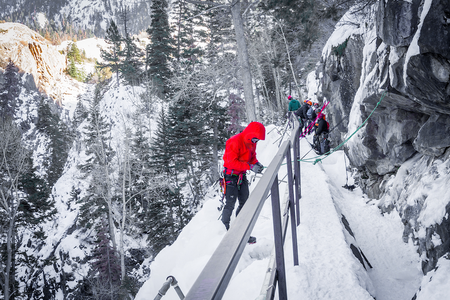 Ouray Ice Park, Image # 4532