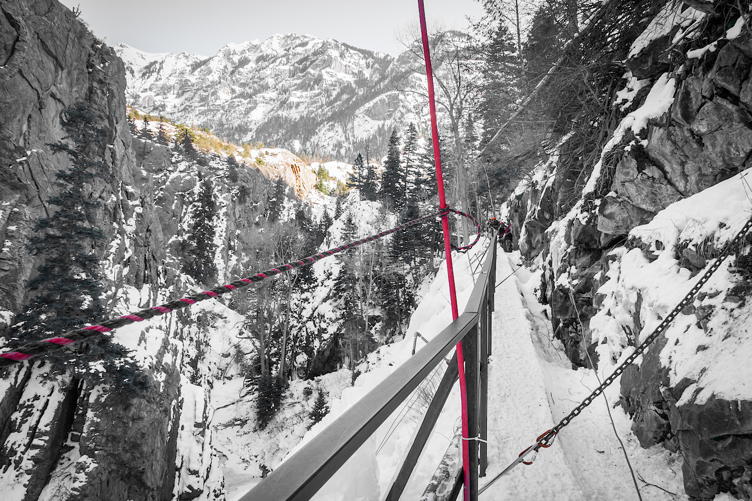 Ouray Ice Park, Image # 4550