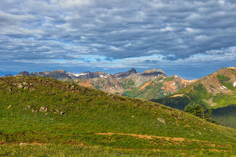 San Juan Mountain Range,
