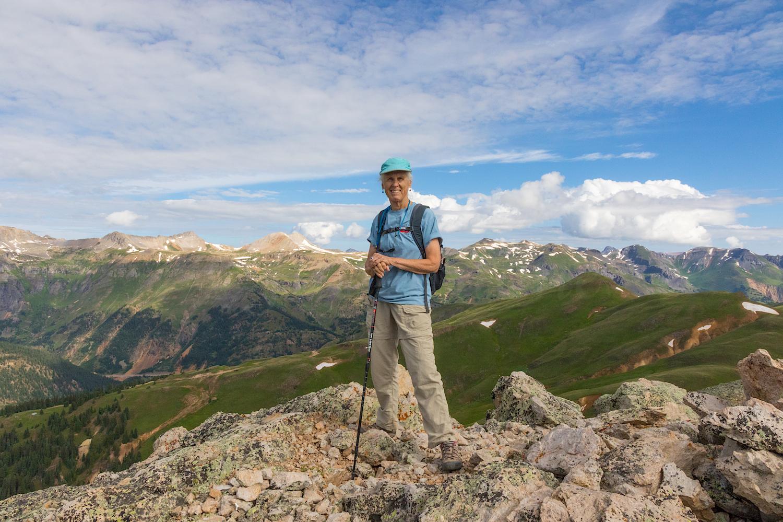 Toby's summit photo
