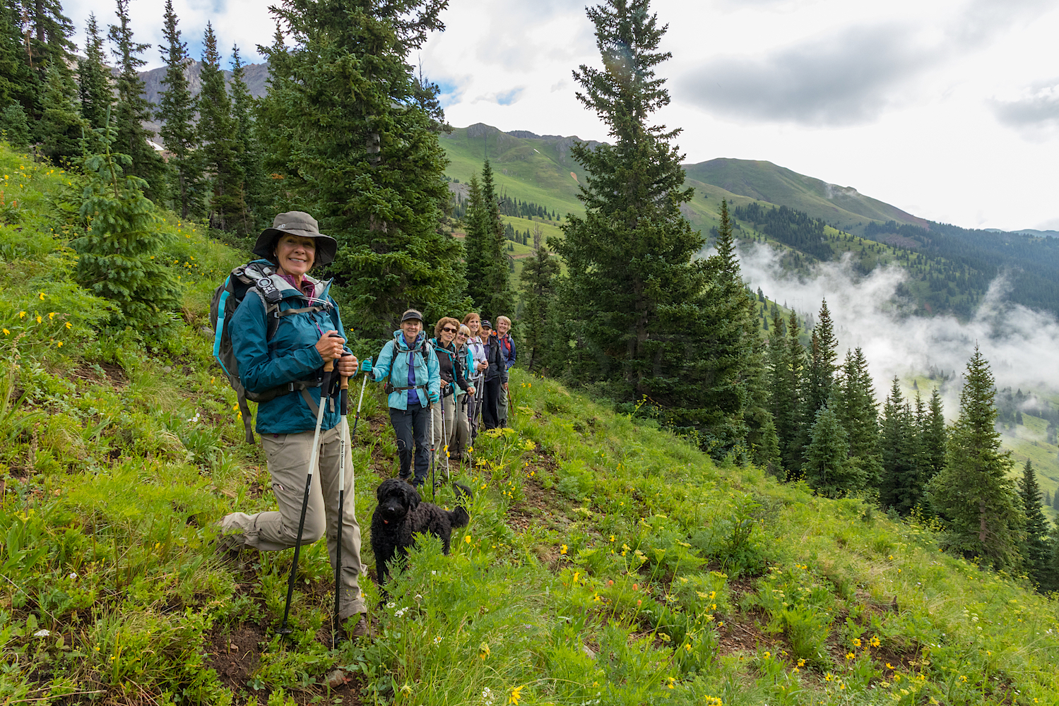 The Moxie's hit the trail for Paradise Basin