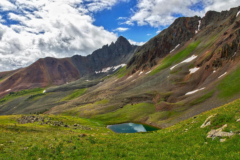 Paradise Basin lake
