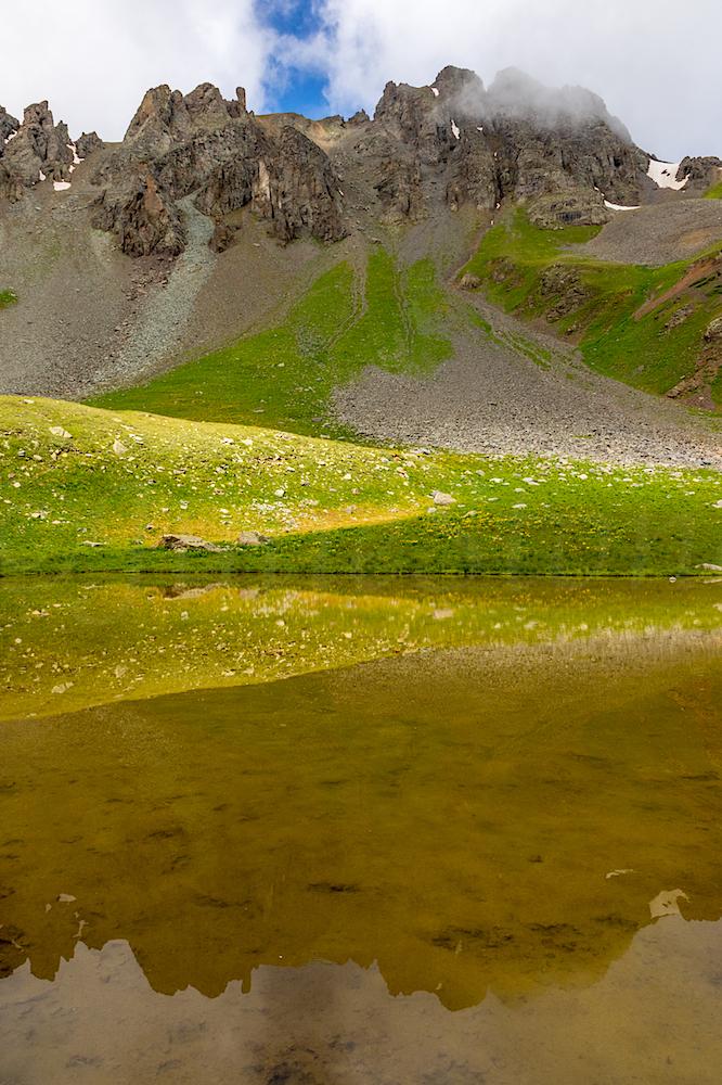 Reflection in Paradise Basin Lake