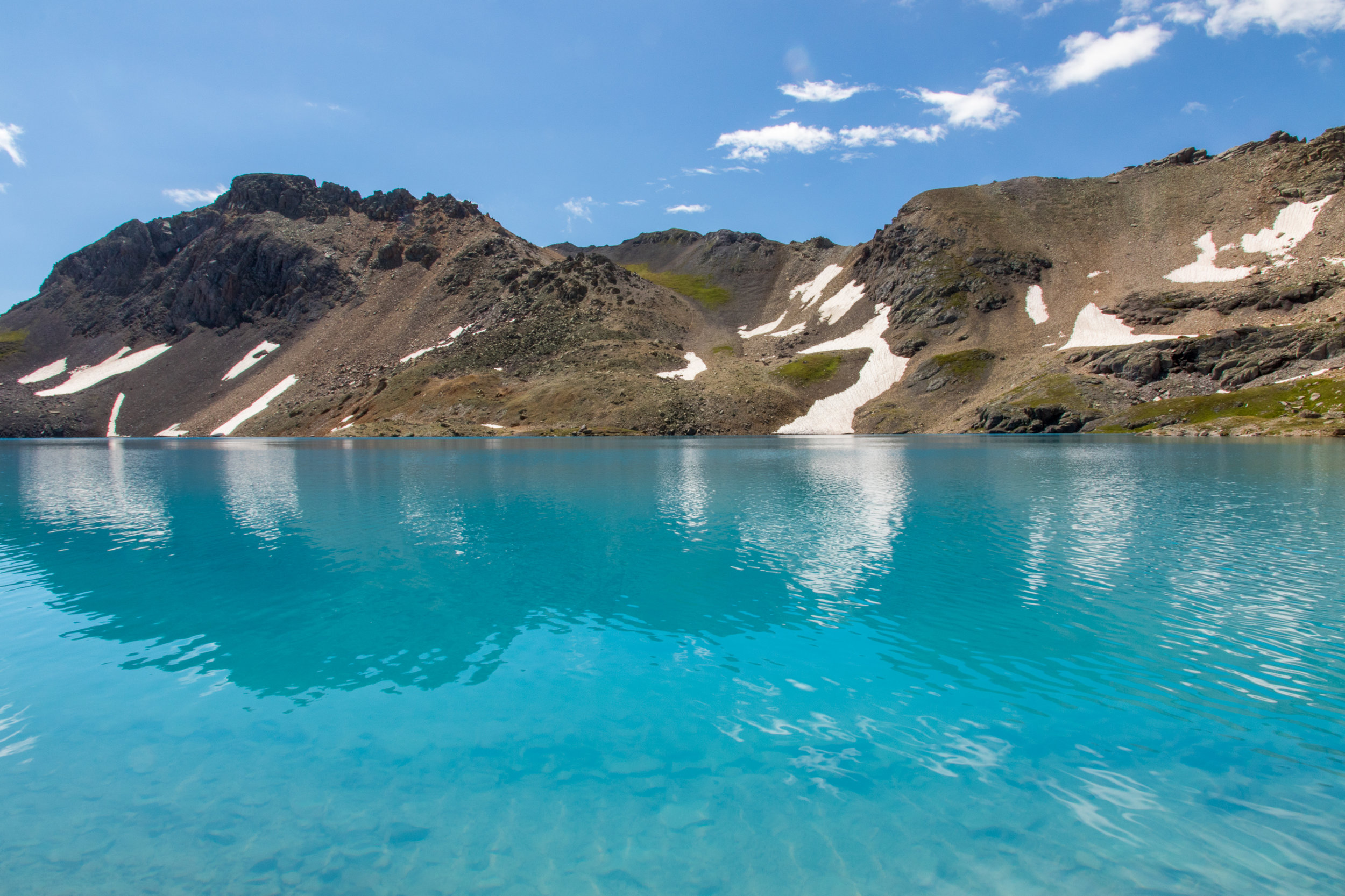 Blue Water of Columbine Lake