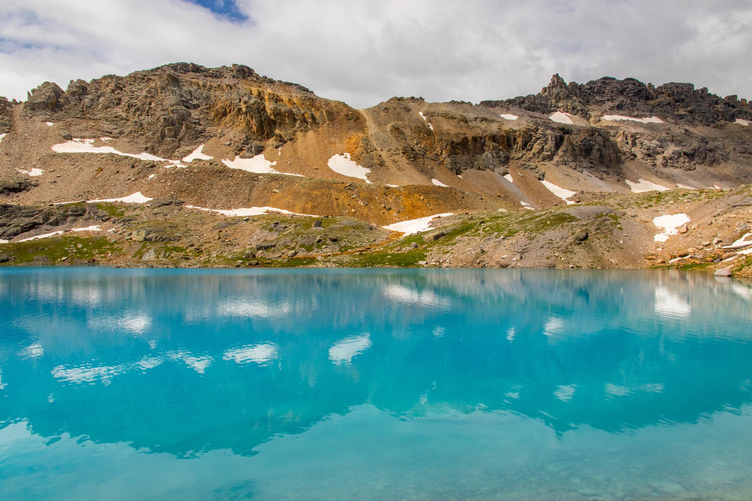 Reflection in Columbine Lake