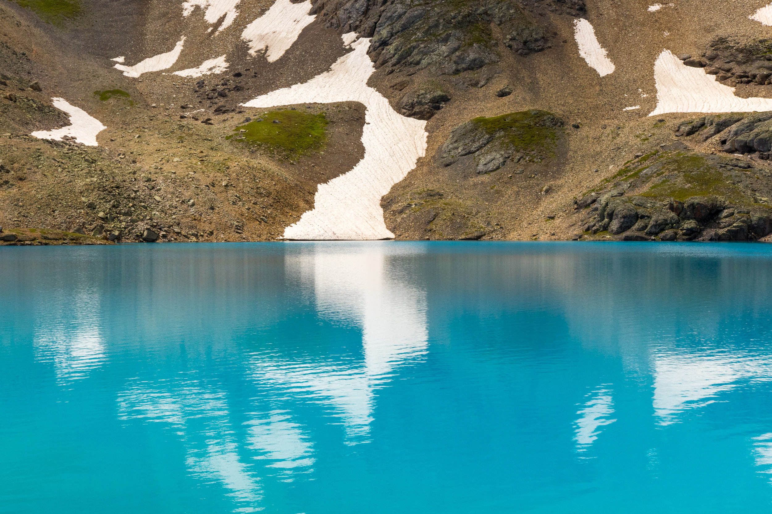 Reflection at Columbine Lake